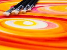 绘画调色板 免版税图库摄影