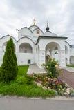 调解的女修道院在苏兹达尔 库存照片
