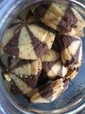 谄媚巧克力饼干 免版税库存照片