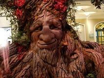 谈的树 免版税库存照片