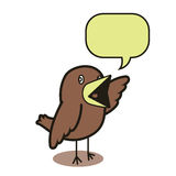 谈的鸟01 库存图片