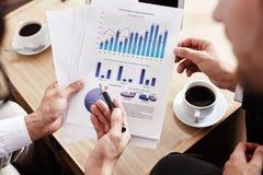 谈论数据 免版税库存照片