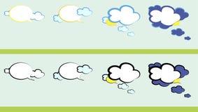 谈话天气 免版税库存图片