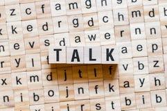 谈话词概念 免版税库存图片