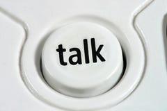 谈话 免版税图库摄影