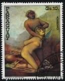 谋杀妇女的野人弗朗西斯科de Goya 免版税库存照片