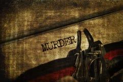 谋杀 库存图片