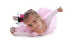一点跳芭蕾舞者 免版税库存照片