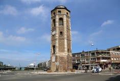 说谎者` s塔在敦刻尔克,法国 免版税库存照片