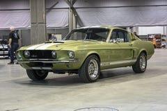 1967年谢尔比GT500 免版税库存图片