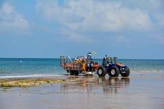 谢林汉姆救生艇 免版税图库摄影
