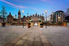 谢菲尔德Townhall英国英国 免版税图库摄影
