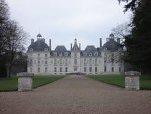 谢韦尔尼在法国的中心 免版税图库摄影
