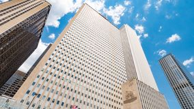 谨慎大厦在芝加哥-芝加哥,美国- 2019年6月12日 库存照片
