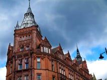 谨慎大厦,诺丁汉市中心 免版税库存图片