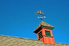 谷仓圆屋顶 库存照片