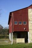 谷仓在农村宾夕法尼亚 免版税库存图片