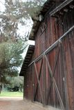 谷仓在灌溉博物馆, City,加利福尼亚国王的历史的住房设备 图库摄影