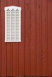 谷仓复制装有百叶窗板的空间视窗 库存照片