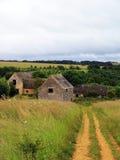 谷仓英国运输路线 图库摄影
