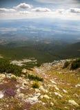 谷在高Tatras,斯洛伐克 免版税库存照片