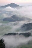谷在Jetrichovice 免版税库存图片
