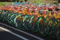 谷歌公司总部和商标 库存图片