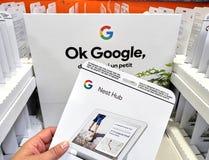 谷歌巢插孔 免版税库存图片