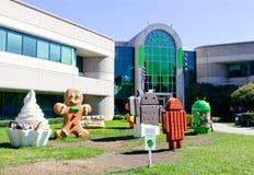 谷歌机器人办公室 库存照片