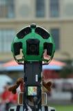 谷歌街观察照相机在工作 免版税图库摄影