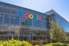 谷歌象标志 免版税库存图片