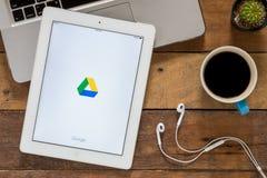 谷歌驱动 免版税库存照片