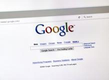 谷歌2004年样式查寻页 免版税库存图片