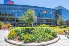 谷歌总部设象 库存照片