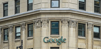 谷歌Montréal 免版税图库摄影