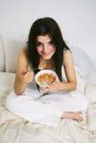 谷物吃 免版税库存图片
