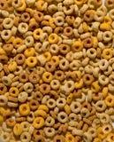 谷物圆的玉米片 库存照片