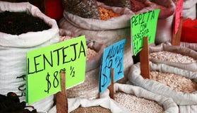 谷物市场价格 库存图片