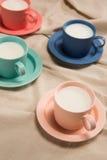 谷物牛奶 免版税图库摄影