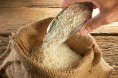 谷物米 库存图片