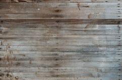 从谷仓的布朗木纹理 免版税库存图片