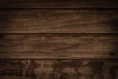 从谷仓的布朗木纹理 库存图片