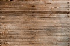 从谷仓的布朗木纹理 图库摄影