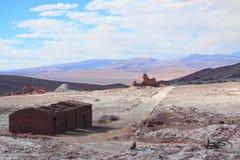 谷de la月/月球(智利) 免版税库存照片