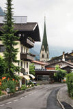 谷Zillertal Mayrhofen 提洛尔 奥地利 免版税库存照片