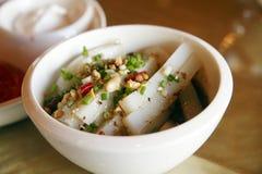 豆中国冷盘果冻 免版税库存照片