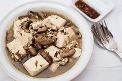 豆中国凝乳样式 免版税图库摄影
