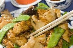 豆中国凝乳餐馆豆腐 免版税图库摄影