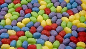 豆五颜六色的果冻 免版税库存照片