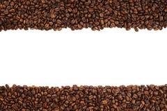 豆咖啡数据条 免版税库存照片